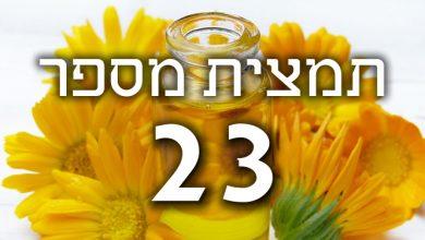 תמצית פרחי באך מספר 23- אוליב - זית OLIVE