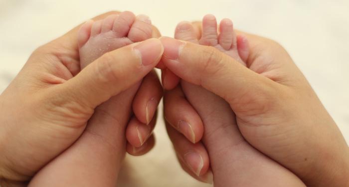 טיפול רפלקסולוגי בתינוקות וילדים